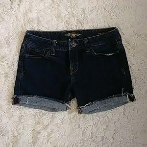 Lucky Brand Lola Skinny Cutoff shorts Size 6/28